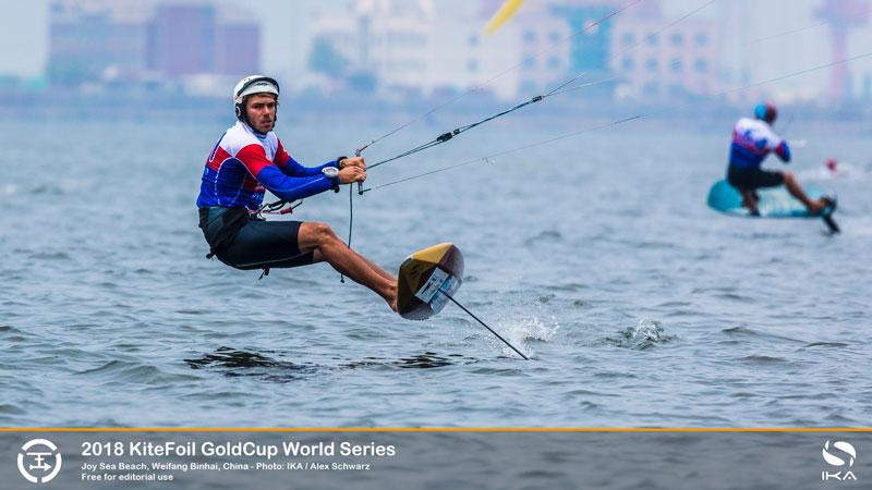 KiteFoil Gold Cup - Maxime Nocher