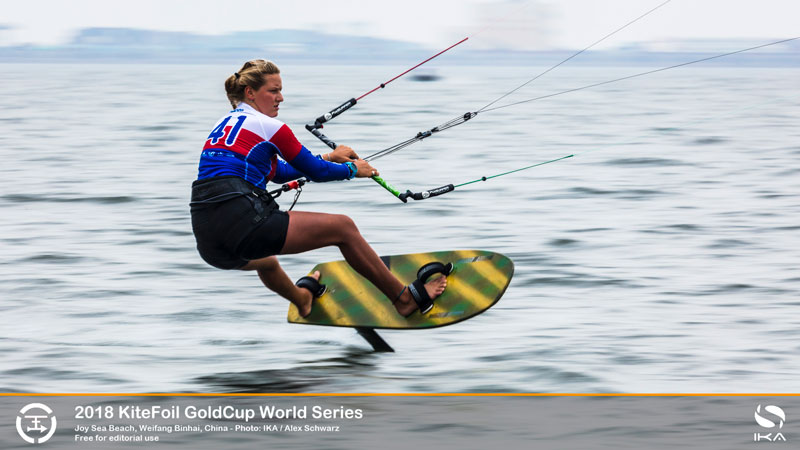 KiteFoil Gold Cup - Dani Moroz