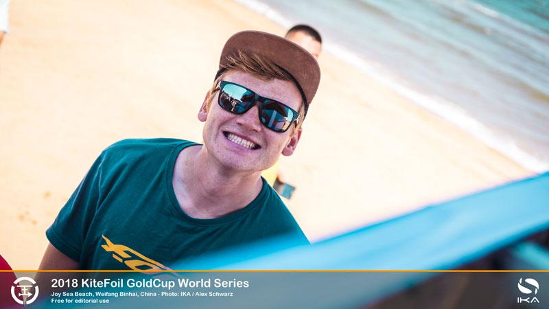 KiteFoil Gold Cup - Connor Bainbridge