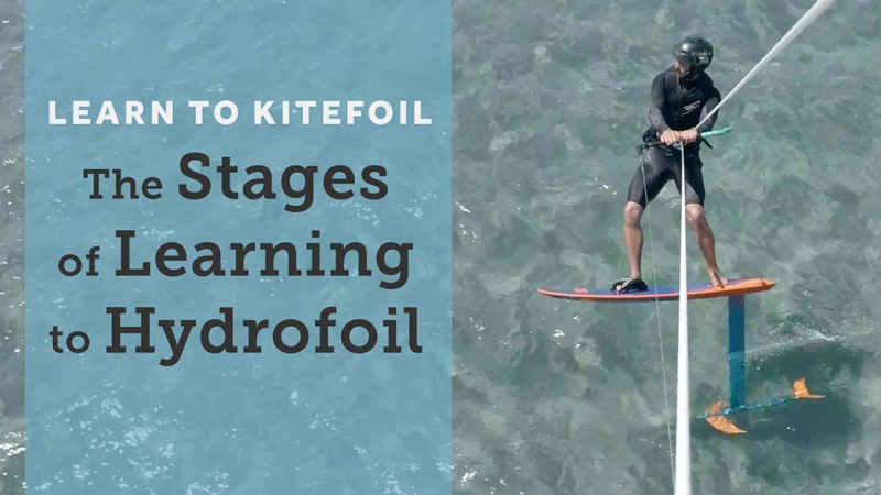 Learning-to-hydrofoil