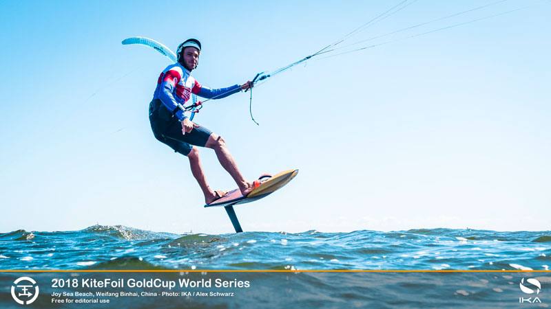 Maxime Nocher - KiteFoil Gold Cup