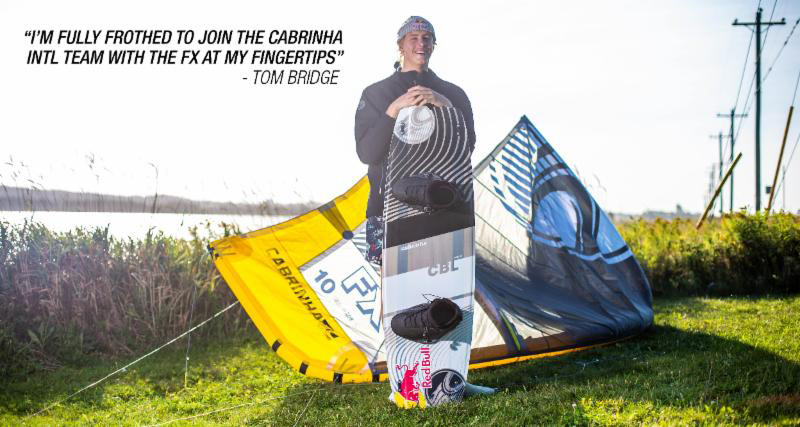 Tom Bridge - Cabrinha 2019