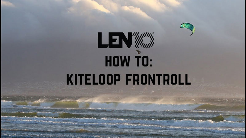 How to kiteloop frontroll