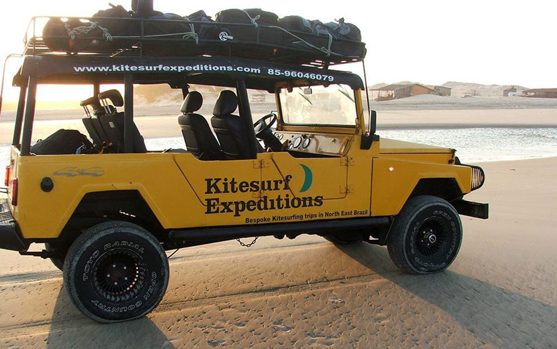 Kitesurf-Expeditions-Jeep