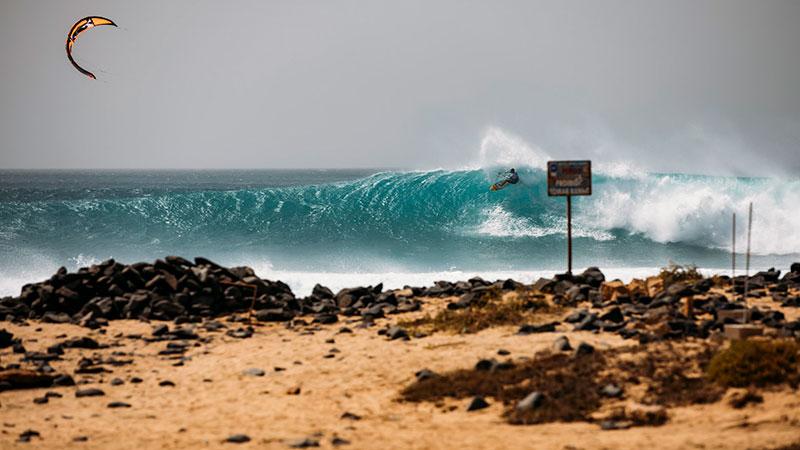 GKA Kite-Surf World Cup Cape Verde day 1 video
