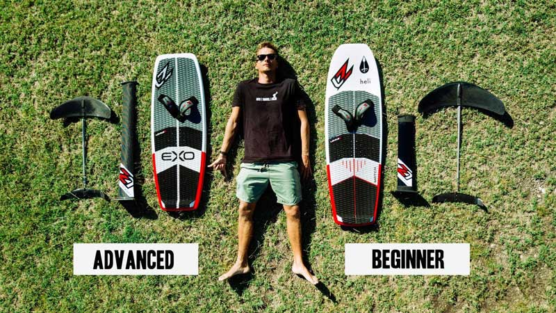 How to choose your first foil for kiteboarding