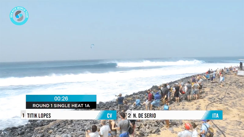 GKA kite-surf world cup Cape Verde live