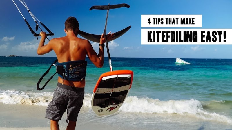 4 Tips that make kitefoiling easy