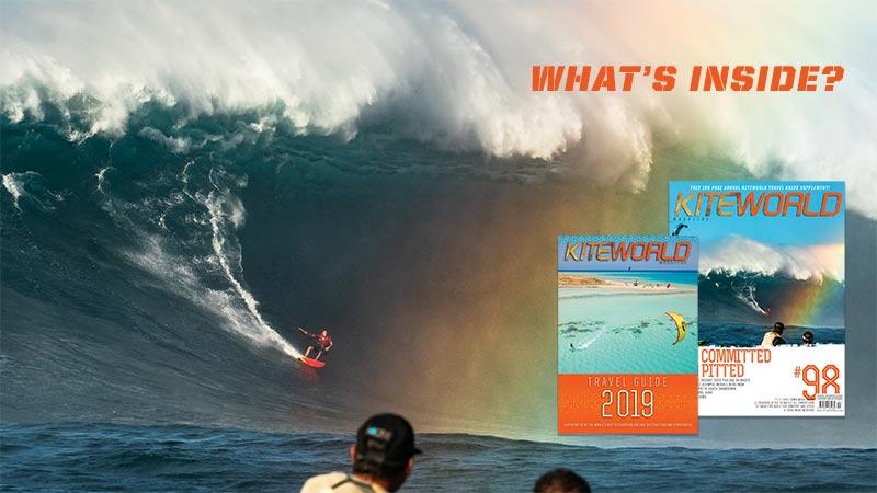 Kiteworld magazine and 2019 Travel Guide video