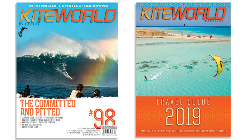 Kiteworld issue 98 and Travel Guide 2019