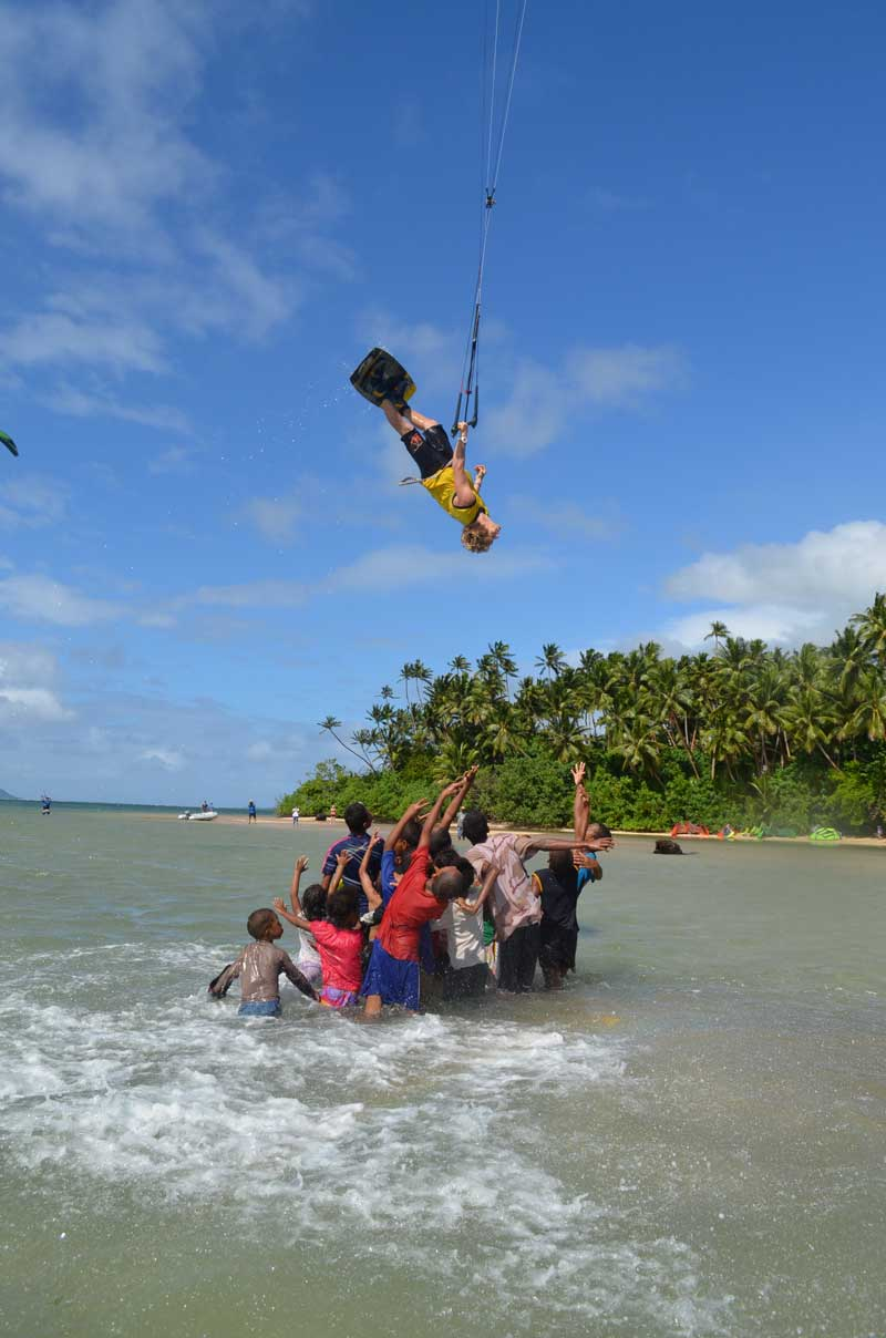 Kalpitiya lagoon crew