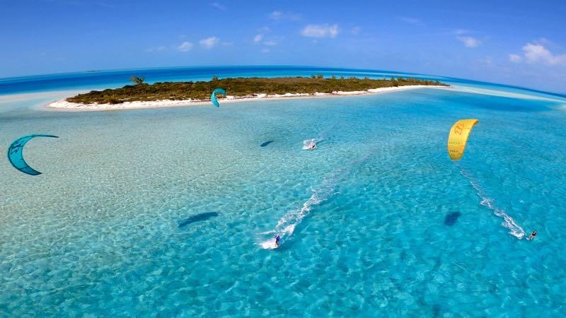 bahamas kiteboarding