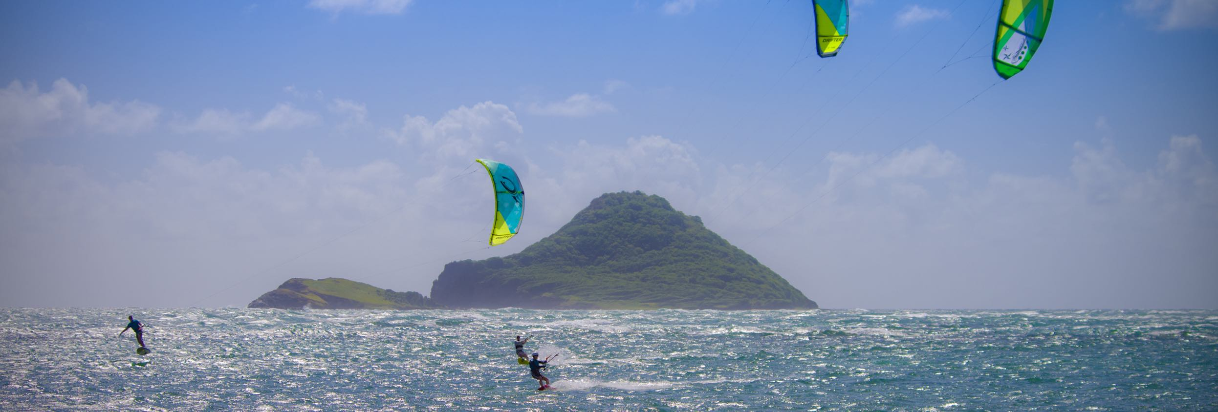 St Lucia kiteboarding