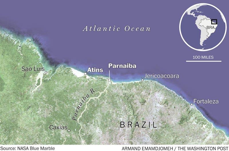 Surfin Sem Fim map