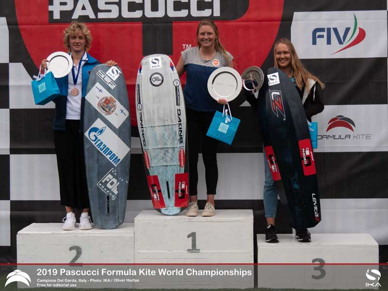 Formula Kite Worlds Womens Podium