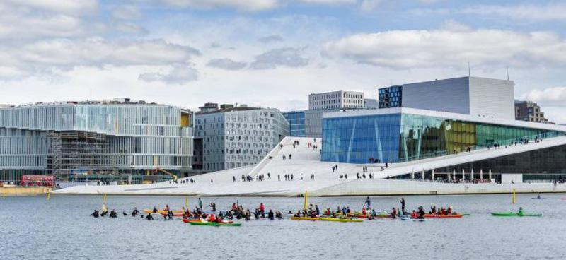 Oslo by Hallvard Kolltveit