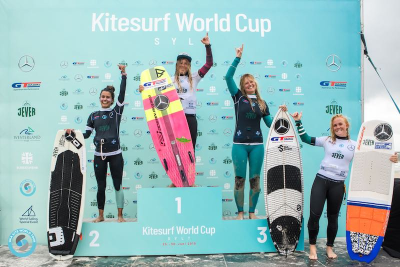 Women's single elimination podium GKA Sylt 2019