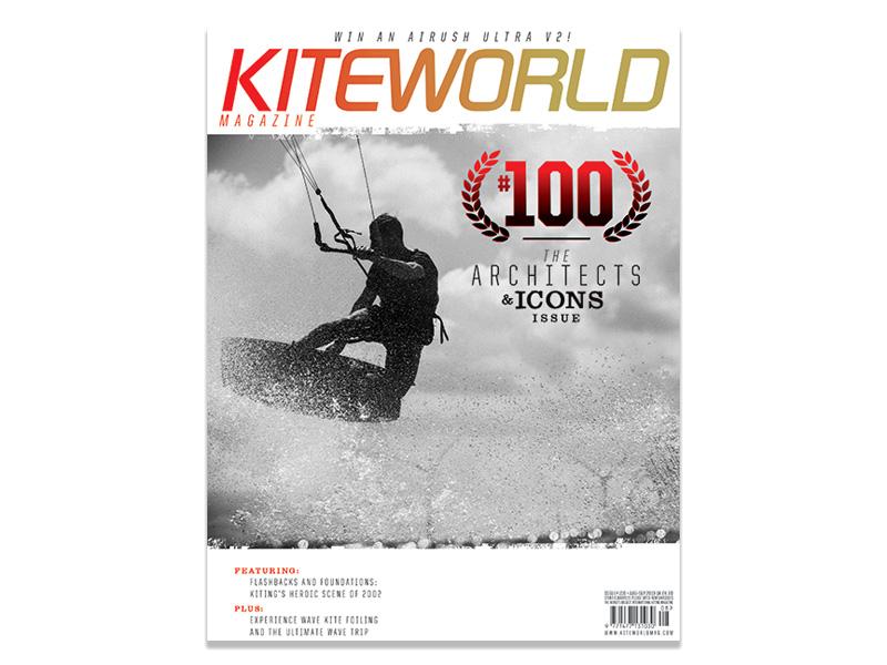 Kiteworld issue 100 magazine cover