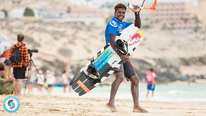 Adeuri Corniel mens GKA Fuerteventura 2019 winner