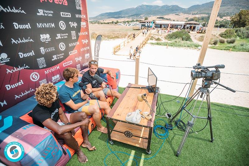 Camille Delannoy Mitu Monteiro GKA Kite World Tour Tarifa