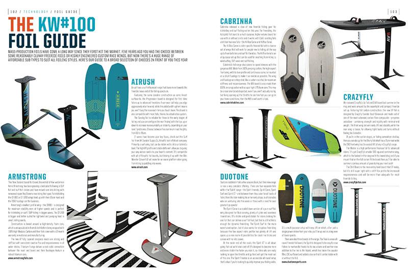 Kite hydrofoil guide 2019 - 2020 - Kiteworld Magazine