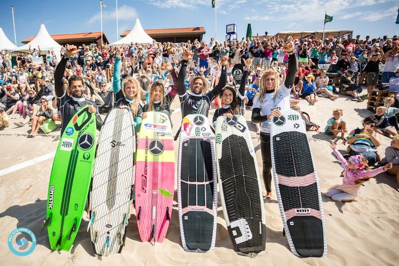 GKA Kite-Surf World Cup 2019 strapless freestyle finalists