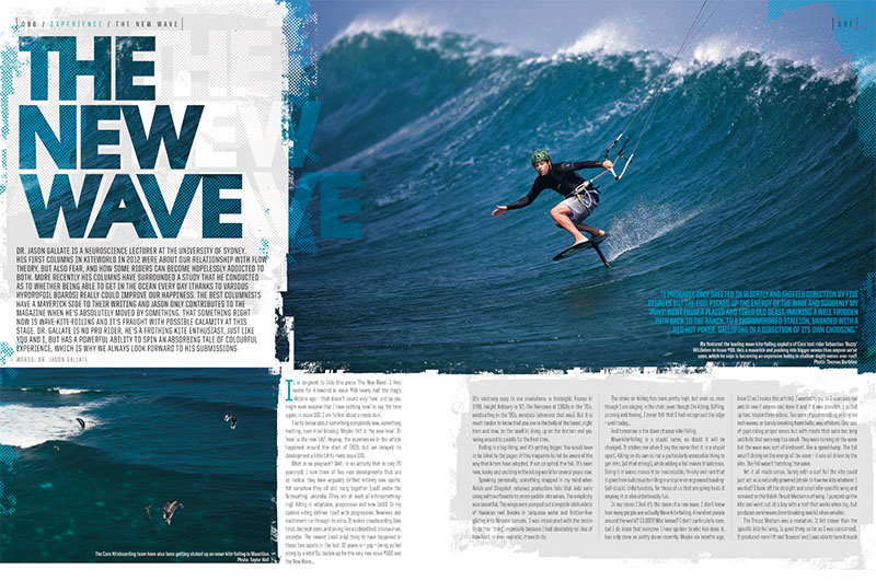 Kite wave foiling Kiteworld Magazine