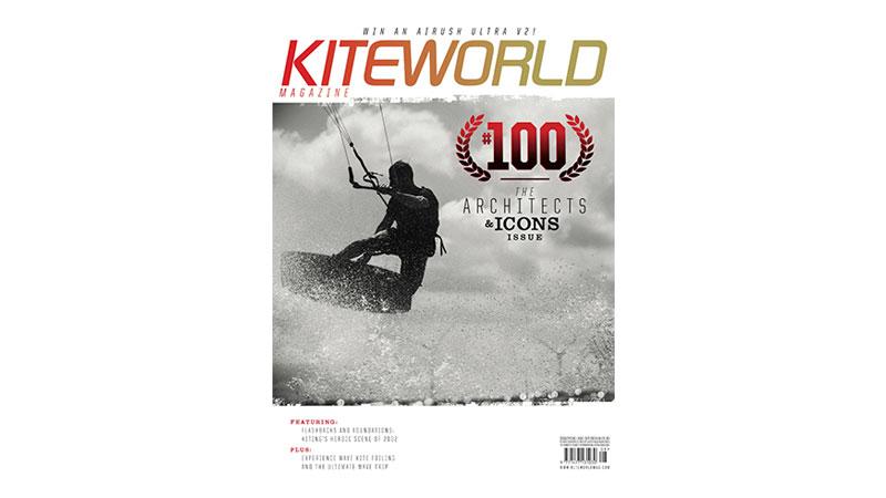 Kiteworld issue 100 cover shot