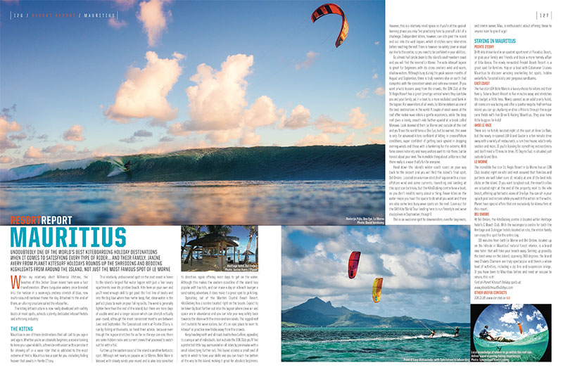 Mauritius kitesurfing spot guide