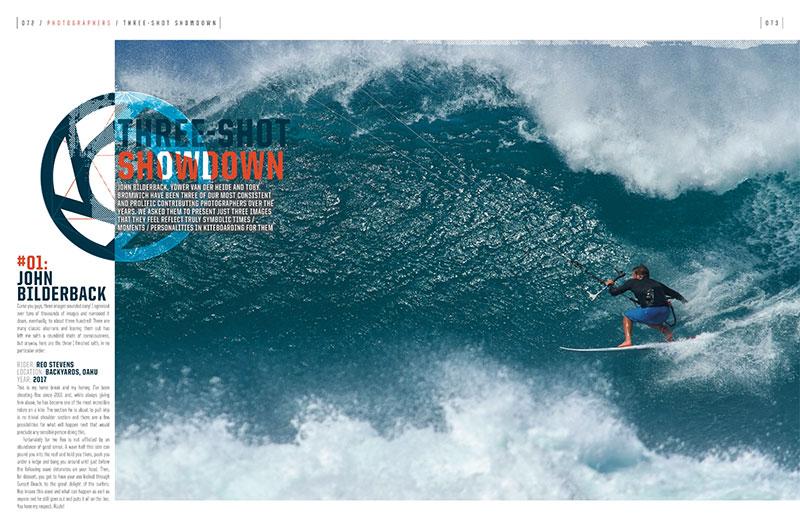 Kiteboarding photography feature Kiteworld issue 100