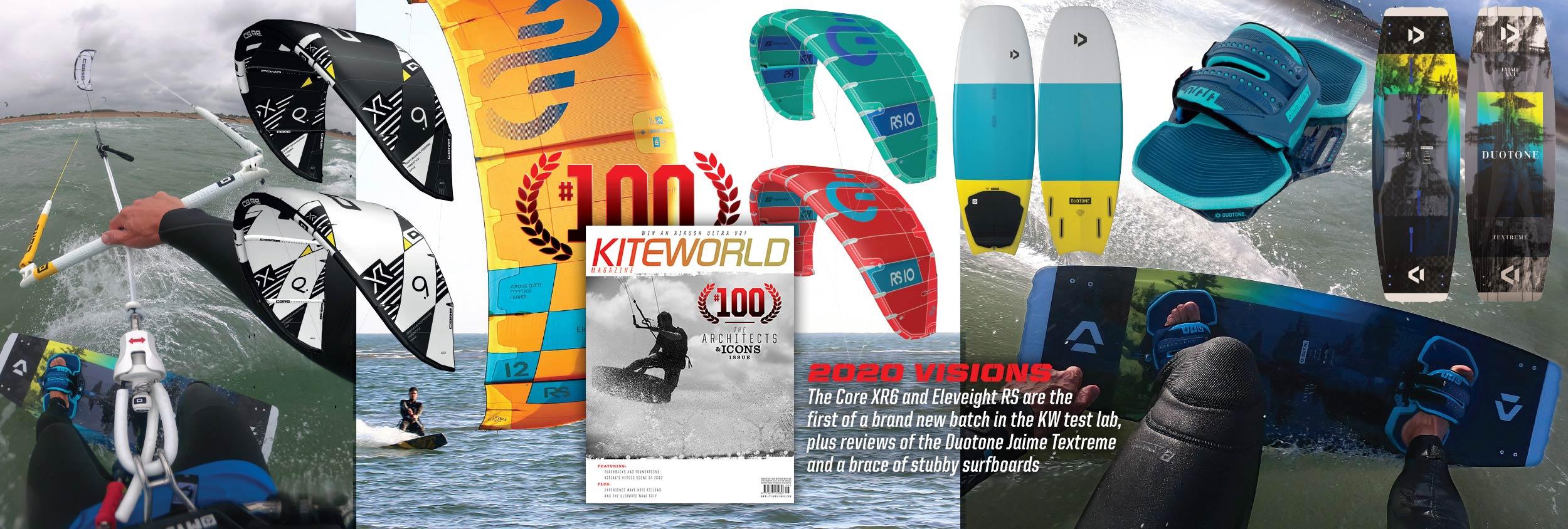 Kiteworld issue 100 2020 kite tests