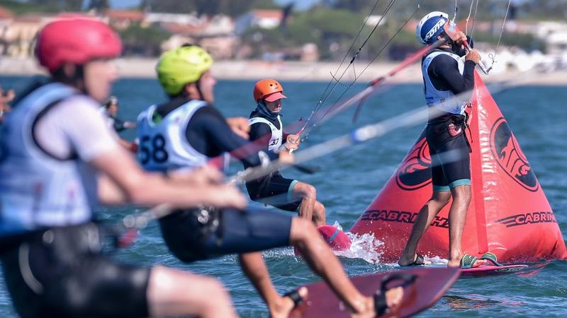 Mid Heat Buoy Navigation 2019 Formula Kite European Championships