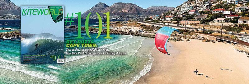 Kiteworld issue 101 - Cape Town kitesurfing spot guide