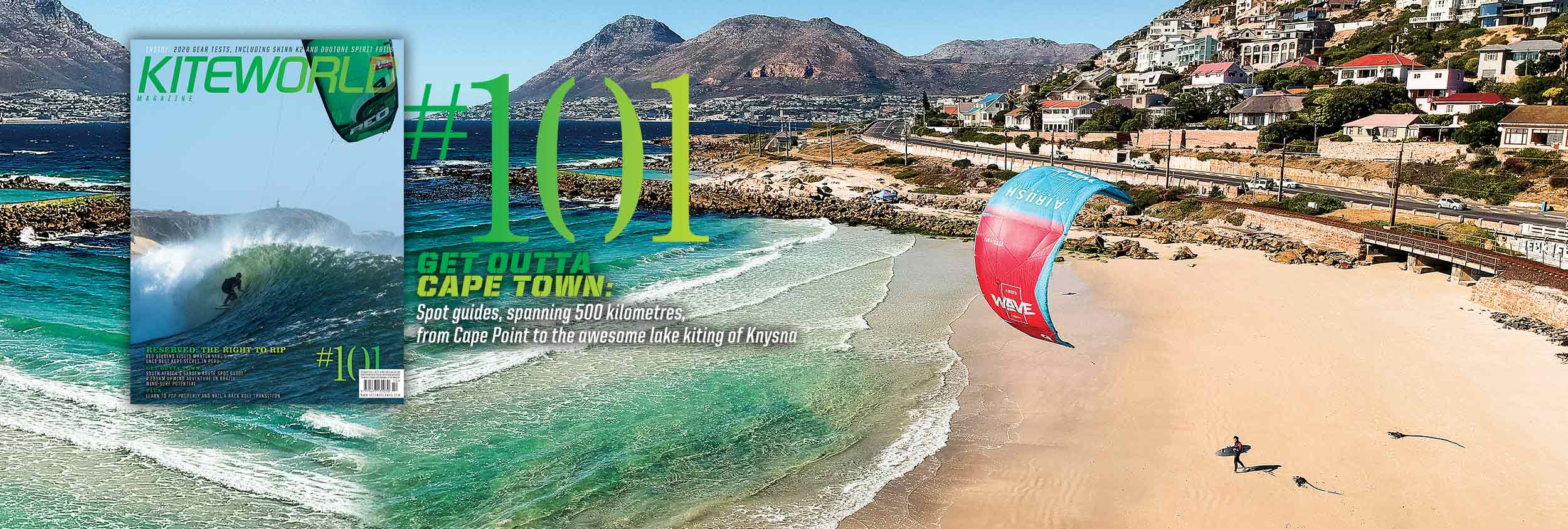 Kiteworld kitesurfing magazine new issue 101