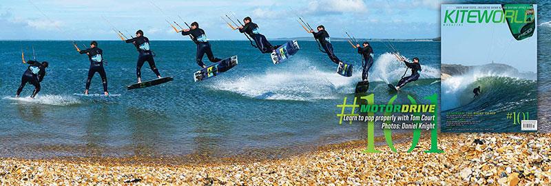 Kiteworld issue 101 - kiteboarding technique