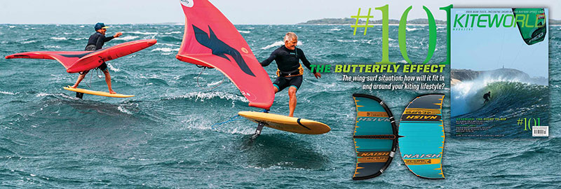 Kiteworld issue 101 wing surfing guide
