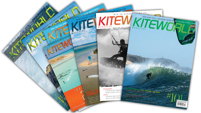 Kiteworld kitesurfing magazine new issue