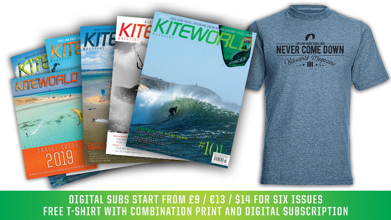 Kiteworld magazine digital and print subscriptions