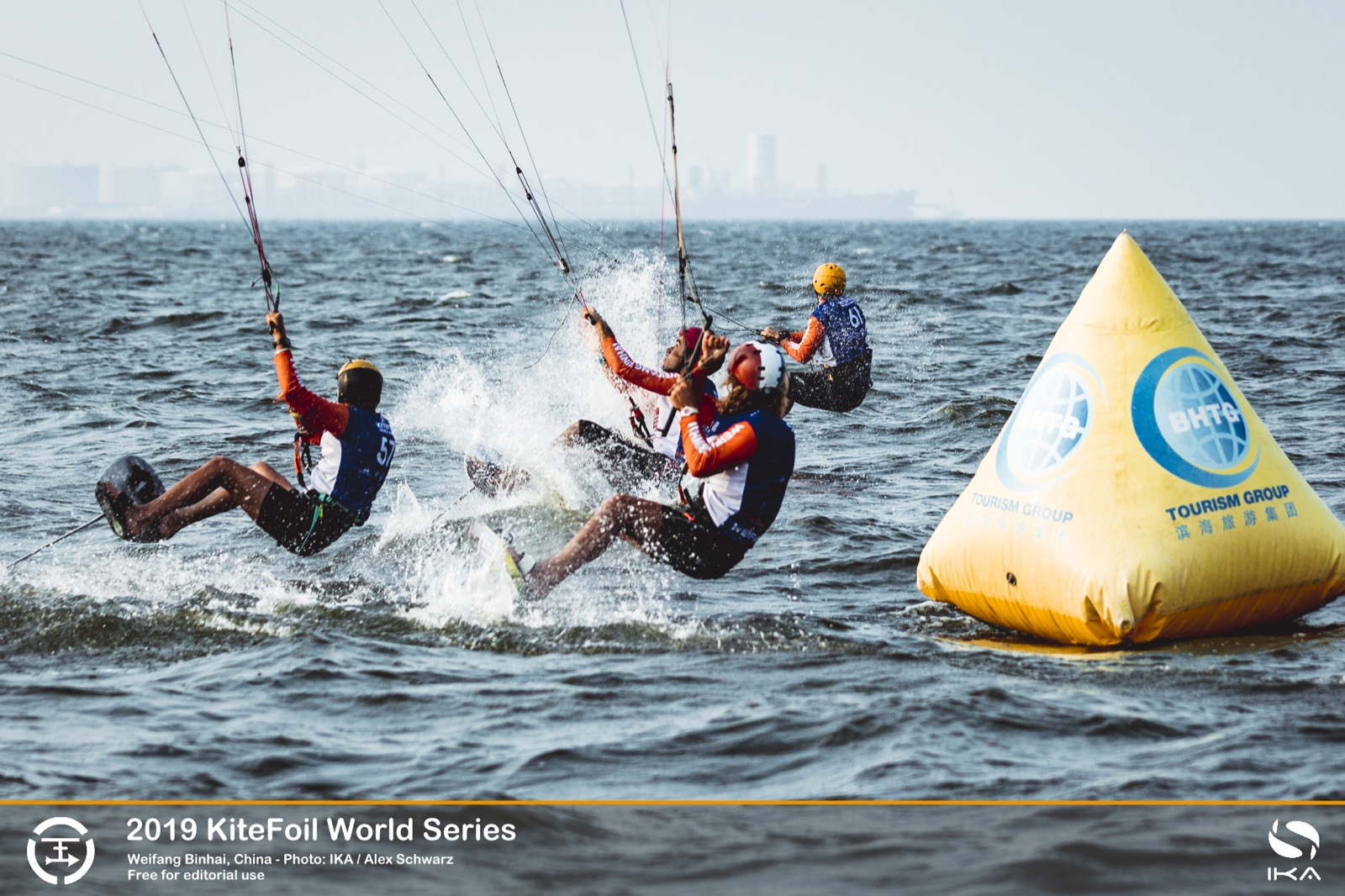 IKA Kitefoil World Series in race shot