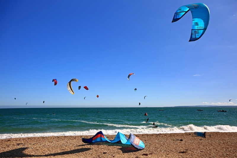 Hayling island beach Armada