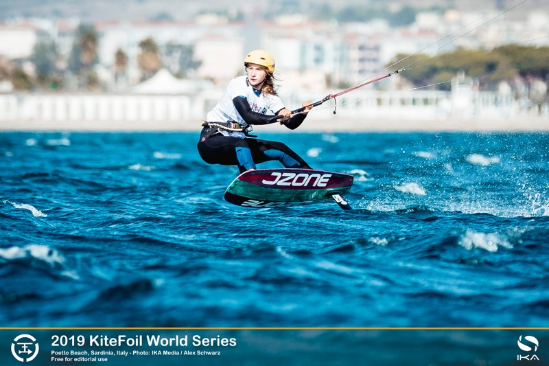 Julia Damasiewicz 2019 KiteFoil World Series, Day 1