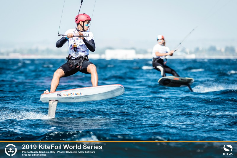 Axel Mazella 2019 KiteFoil World Series, Day 1