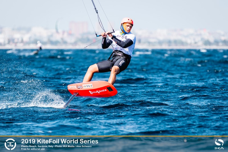 Toni Vodisek 2019 KiteFoil World Series