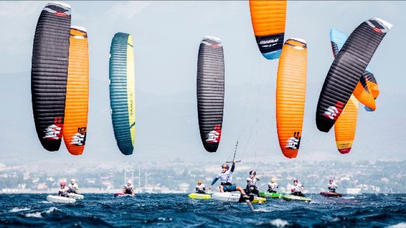 2019 KiteFoil World Series, Day 1