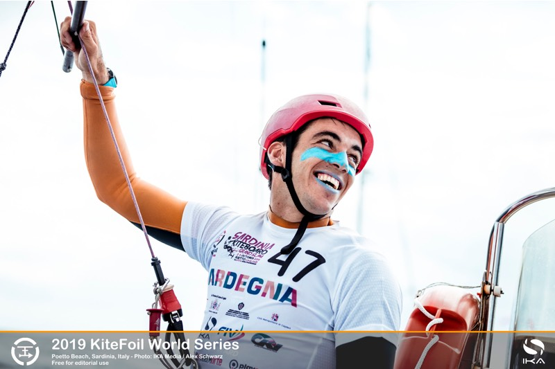 KiteFoil World Series in Italy