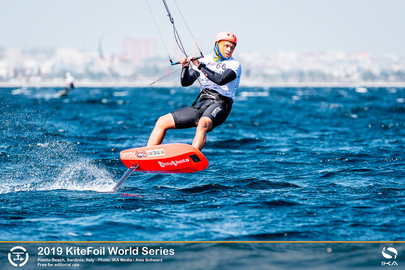 Toni Vodisek KiteFoil World Series Final