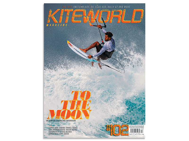 Kiteworld magazine issue 102 with Airton Cozzolino