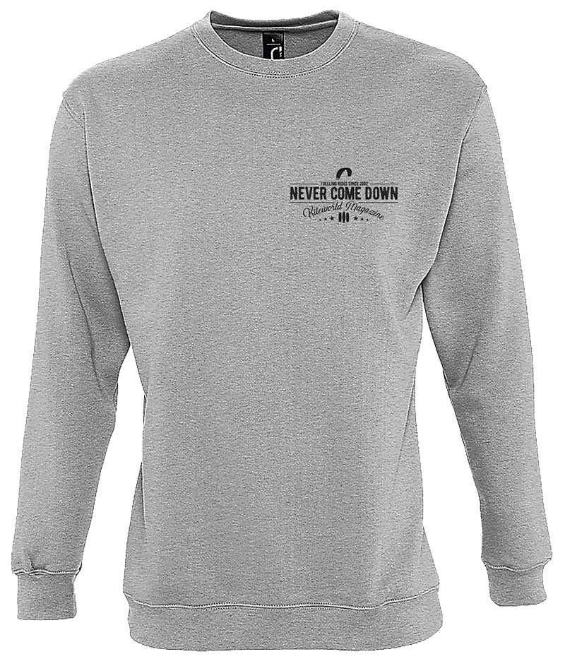 Kiteworld Never Come Down sweater