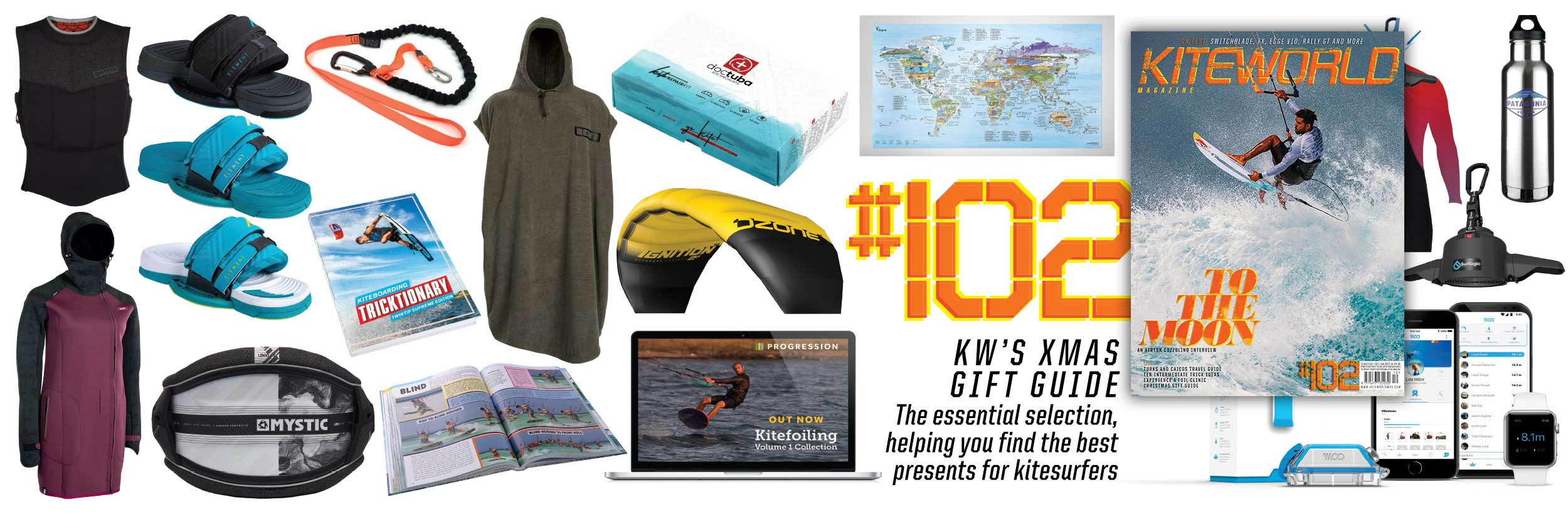 Kitesurfing christmas gifts Kiteworld Magazine Issue 102