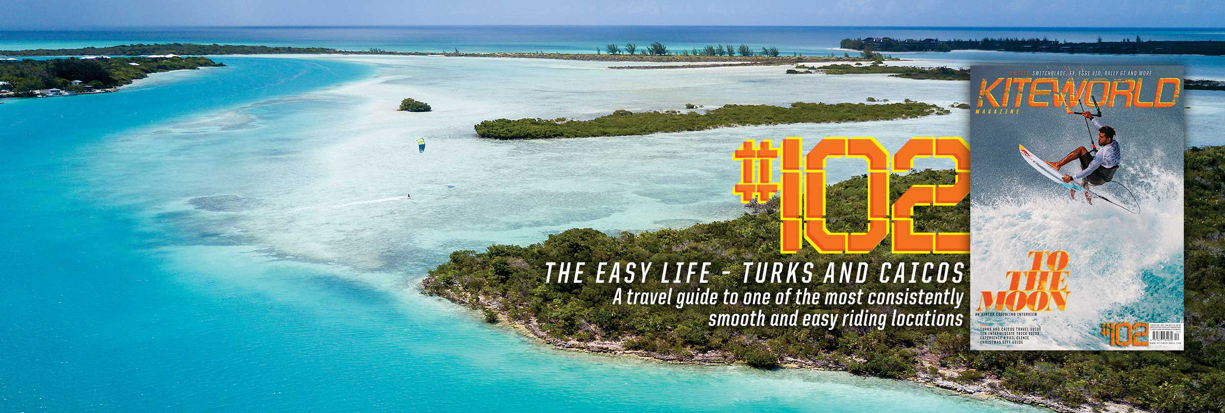 Turks and Caicos Kiteworld Magazine Issue 102